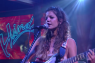 Watch Hinds Make Their American TV Debut On <em>Colbert</em>