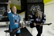 Watch Metallica Play The National Anthem Before Stanley Cup Finals Game 4