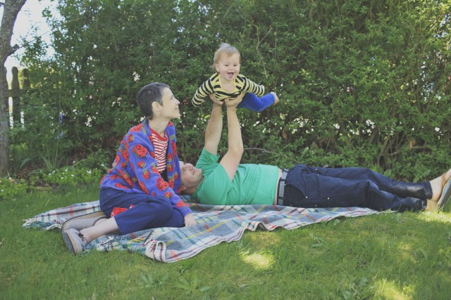 Phil Elverum and family