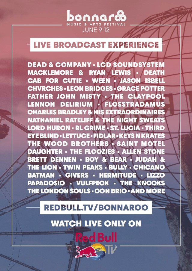 Livestream Bonnaroon 2016 Here