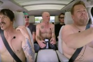 Watch The Red Hot Chili Peppers Do Carpool Karaoke With James Corden
