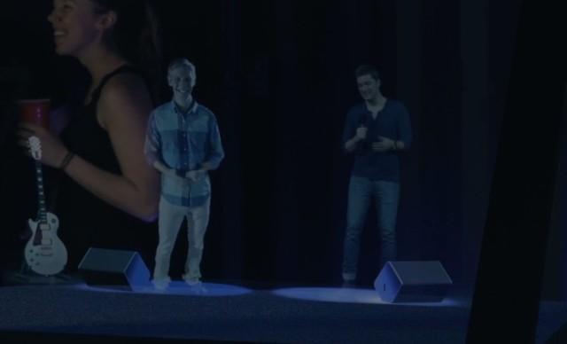 Rob Thomas hologram karaoke