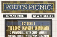 The Roots Announce NYC Edition Of Roots Picnic With D'Angelo, John Mayer, Wu-Tang Clan, David Byrne, Nile Rodgers