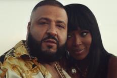 DJ Khaled & Naomi Campbell