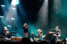 Watch Justin Vernon Join James Blake At Glastonbury