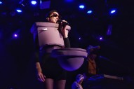 Watch Father John Misty, St. Vincent In A Toilet Costume Play Jasper Johnson Benefit In NYC