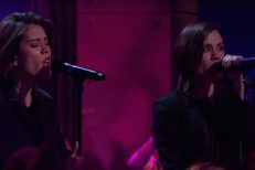 Tegan And Sara on James Corden