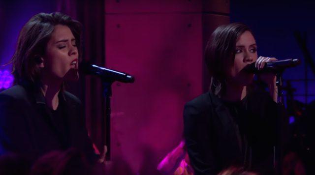Tegan And Sara on James Corden
