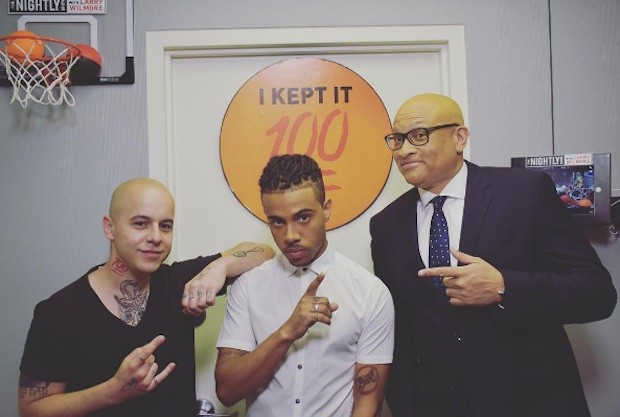 Vic Mensa and Larry Wilmore