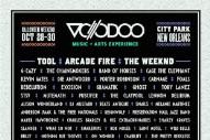 Voodoo Festival 2016 Lineup