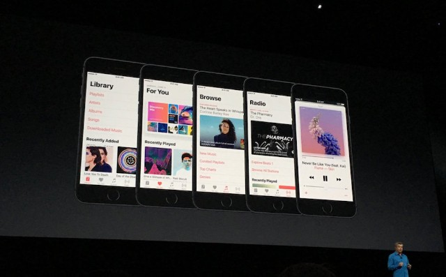 Apple Unveils Apple Music Redesign