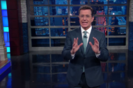 "Stephen Colbert Weighs In On Led Zeppelin Trial: ""They're Screwed"""