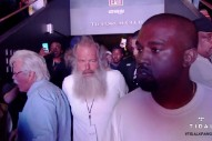 """Livestream Kanye West's """"Famous"""" Video Premiere Event In LA"""