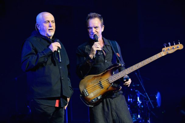 """Watch Peter Gabriel Debut New Song """"Love Can Heal"""" At Joint Tour With Sting Opening Night In Columbus"""