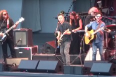 Watch M. Ward Reunite Monsters Of Folk, She & Him While Opening For Brian Wilson