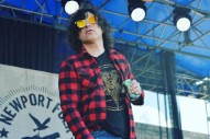 "Hear Ryan Adams' Bluegrass Covers Of Slayer & Black Sabbath, Improvised ""Frightened And Rabid"" At Newport Folk Fest"