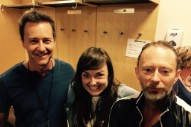 Here's The Lucky Fan Who Won A Night With Radiohead And Ed Norton