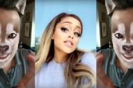 "Watch Ariana Grande & Jimmy Fallon's Snapchat Filter Video For ""Into You"""