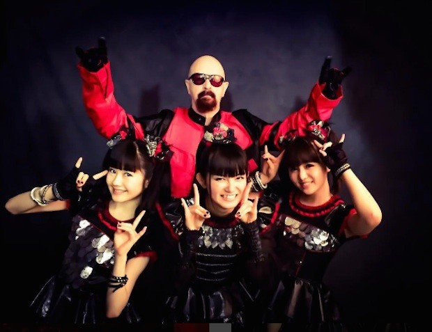 Watch Babymetal Perform With Rob Halford At The Apmas