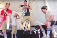 "Blink-182 – ""Brohemian Rhapsody"" Video (Feat. Mumford & Sons)"