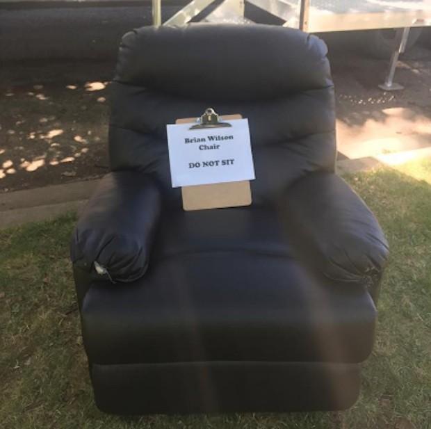 Brian Wilson chair