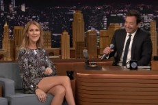Celine Dion on Fallon