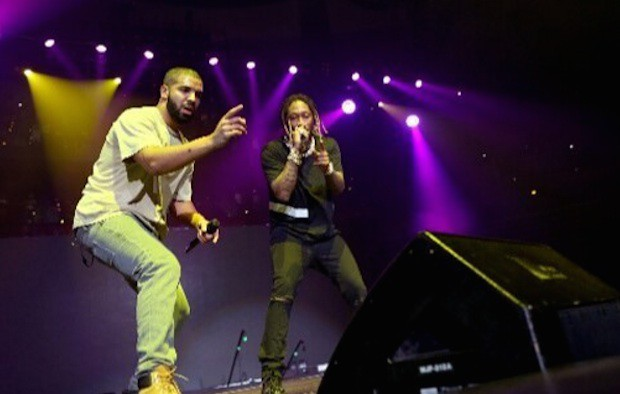 Drake and Future in Austin