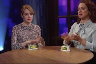 "Watch Emma Stone And Maya Rudolph Cover Robyn's ""Call Your Girlfriend"" With Butter Tubs"