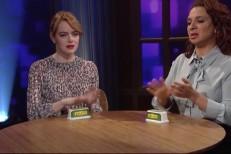 Emma Stone and Maya Rudolph
