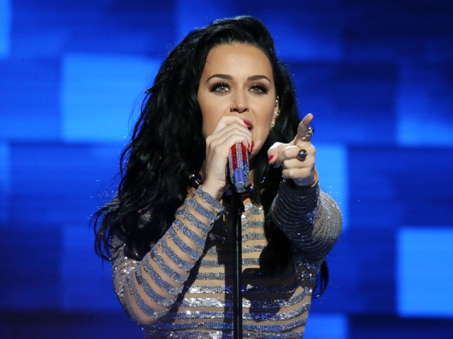 Katy Perry at the DNC