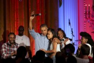 Watch President Obama, Kendrick Lamar, & Janelle Monáe Sing Happy Birthday To Malia Obama