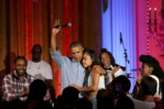 Kendrick Lamar, Janelle Monaé, Barack Obama