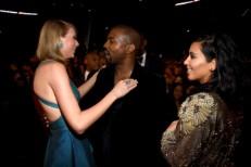 Kim, Kanye, and Taylor