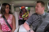 Watch Michelle Obama & Missy Elliott Do Carpool Karaoke With James Corden