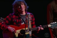 Watch Ryan Adams Play An Acoustic &#8220;Oh My Sweet Carolina&#8221; On <em>Colbert</em>