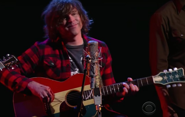 Ryan Adams on Colbert