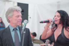 Watch Poor Jon Bon Jovi Get Pressured To Sing