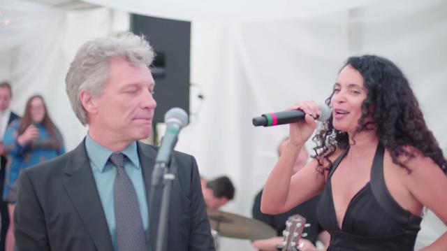 Watch Poor Jon Bon Jovi Get Pressured To Sing