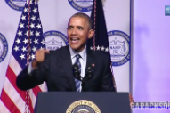 "Watch Obama Get Dubbed To Rap ""FDT (Fuck Donald Trump)"""