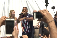 Will Smith performs