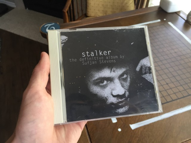 Sufjan Stevens' alleged Stalker album cover