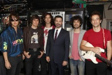 The Strokes and Jimmy Kimmel