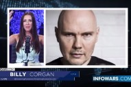 Billy Corgan Discusses The New World Order On <em>Infowars</em>&#8217; Batshit Anti-Hillary Fundraiser