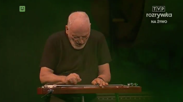 Watch David Gilmour Play Pink Floyd's