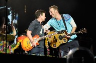 Heavy: Watch Coldplay Play <em>Back To The Future</em> Songs With Marty McFly