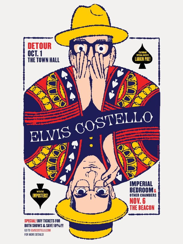 Elvis Costello Announces Unique