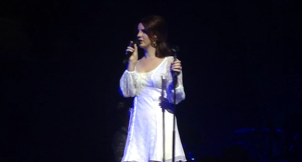 "Watch Lana Del Rey Sing ""Salvatore"" Live For The First Time At Montreux Jazz Fest"