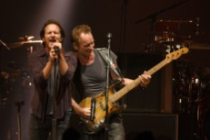 Watch Eddie Vedder Join Sting & Peter Gabriel In Seattle