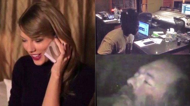 Taylor Swift & Kanye West Phone Call