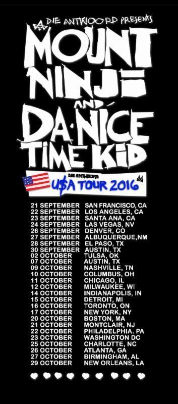 Die Antwoord Tour Dates